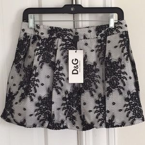 Dolce&Gabbana mini  lace skirt